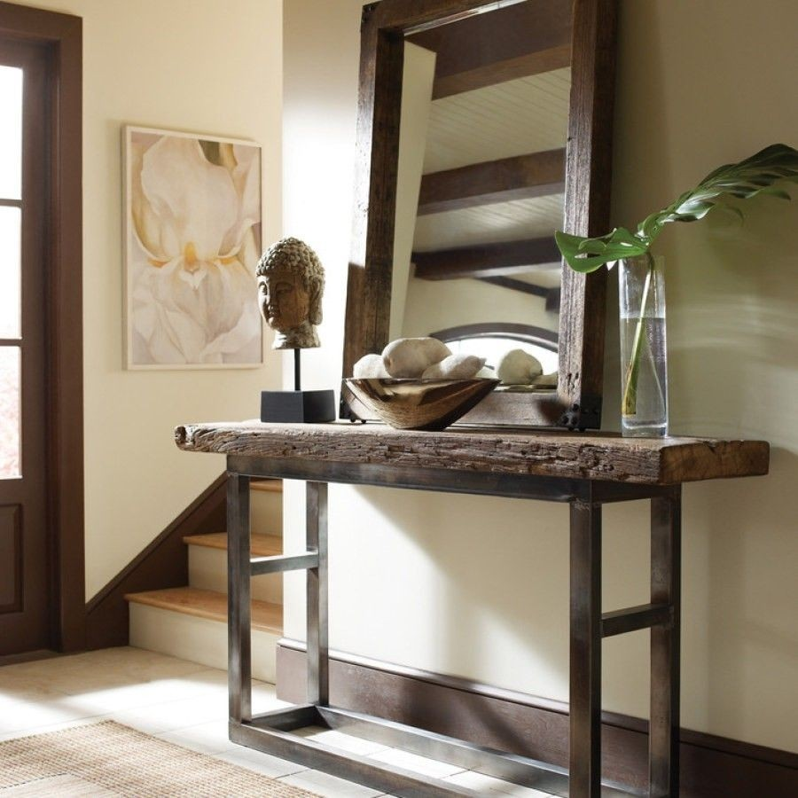 Superbe Iron Entry Table 1