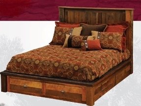 Red oak bedroom furniture 18