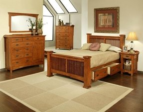 Red oak bedroom furniture 36