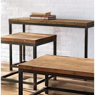 Restoration hardware entry table