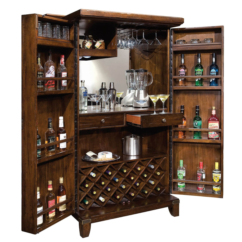 Rogue Valley Wine U0026 Bar Cabinet