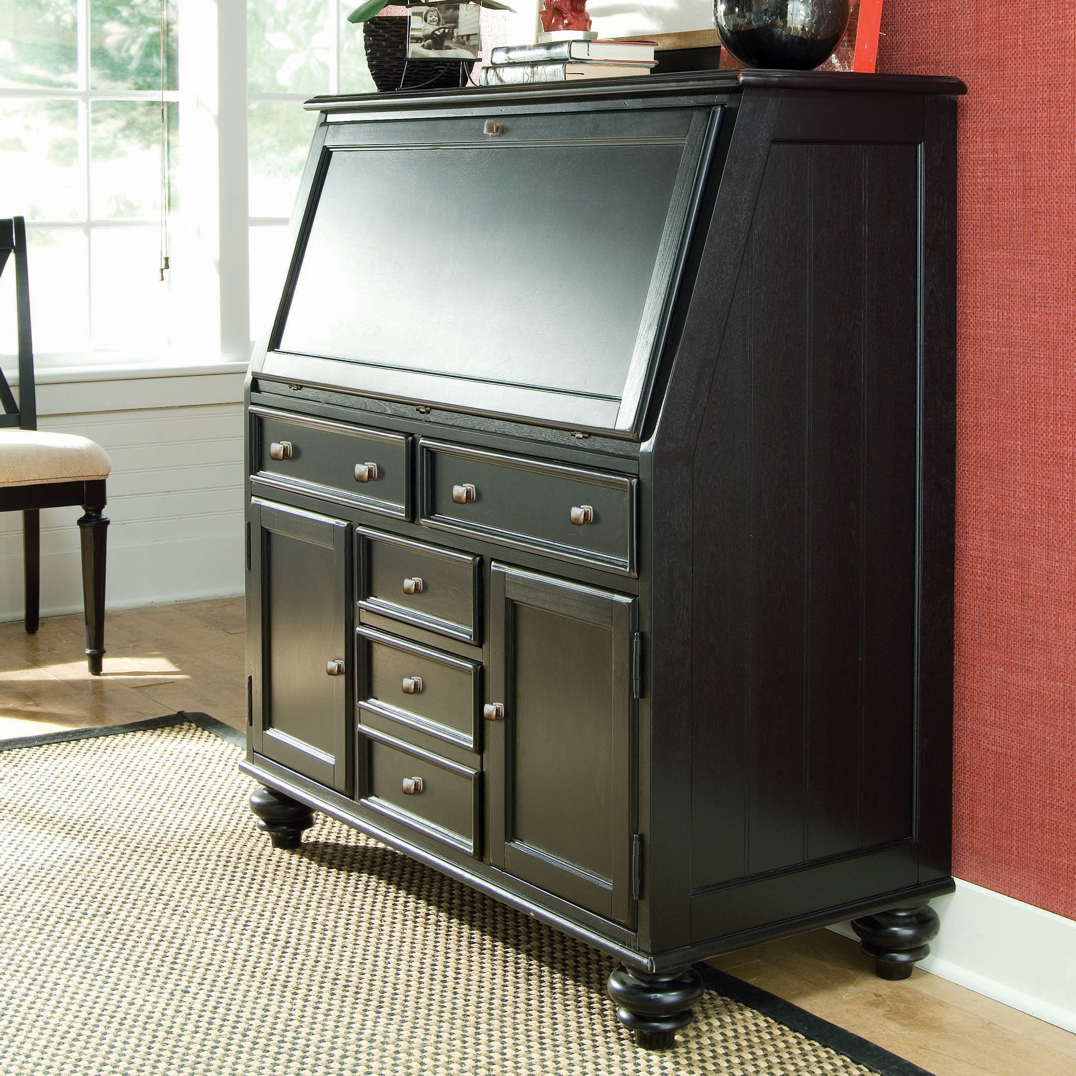 Delicieux Secretary Style Computer Desk 19
