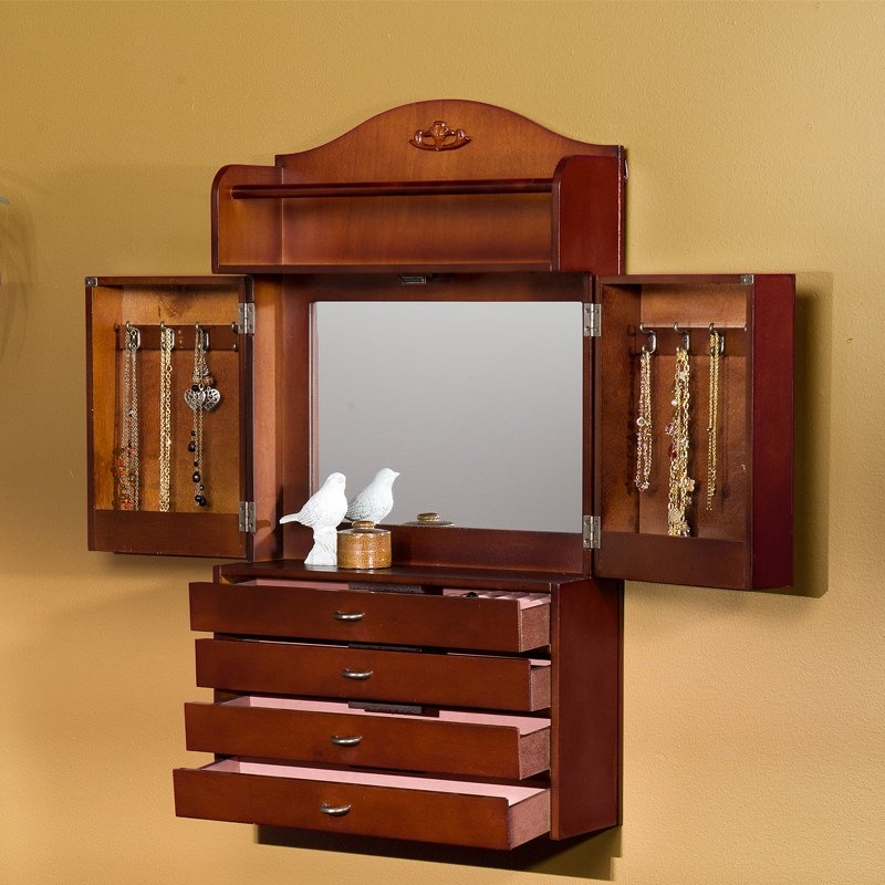 Jewelry Wall Cabinet Foter