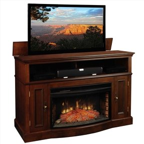 Electric Fireplace With Tv Lift - Foter