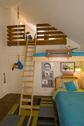 Twin Loft Bunk Bed Ideas On Foter