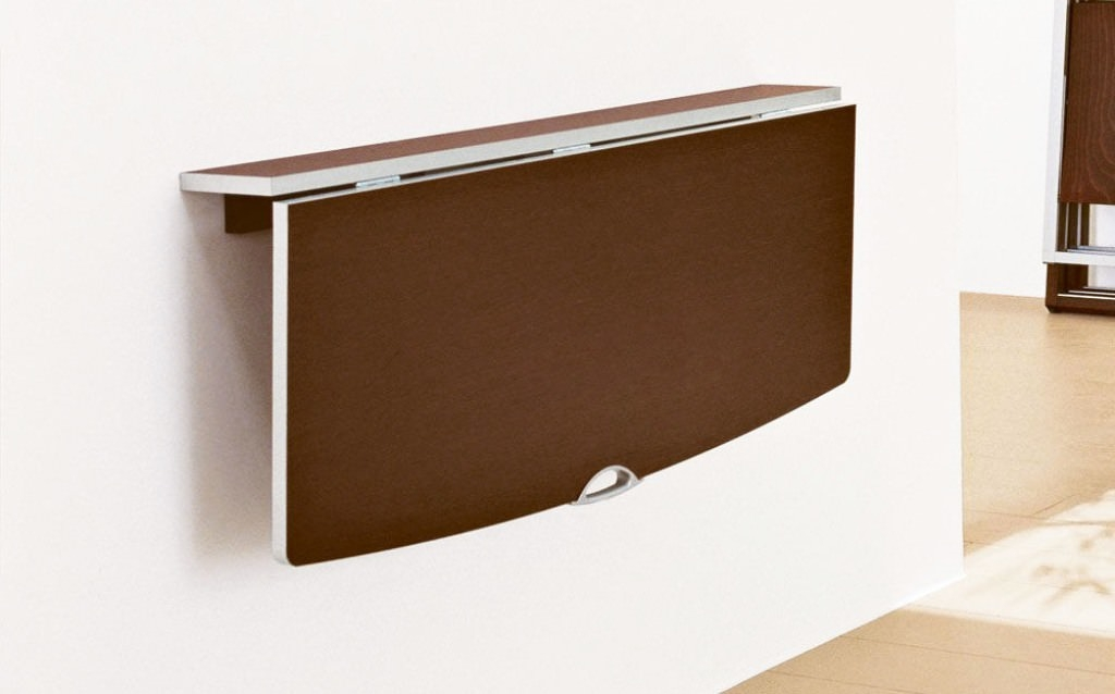Wall Mounted Fold Out Table For Our Small Kitchen When