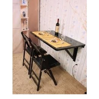 Wall mounted table kitchen