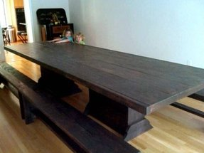 12 foot harvest table community table