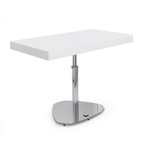 Adjustable Height C Table