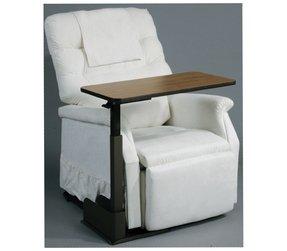 adjustable height side table