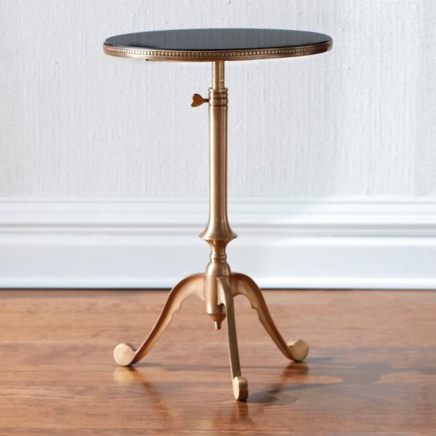 Incroyable Adjustable Side Table With Wheels