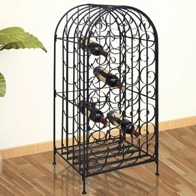 Art deco wine rack