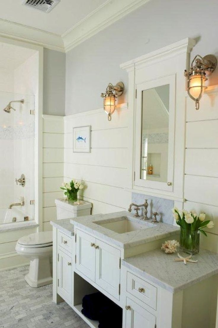Beachy Bathroom