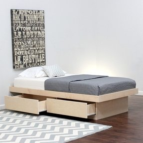 Birch twin bed 15