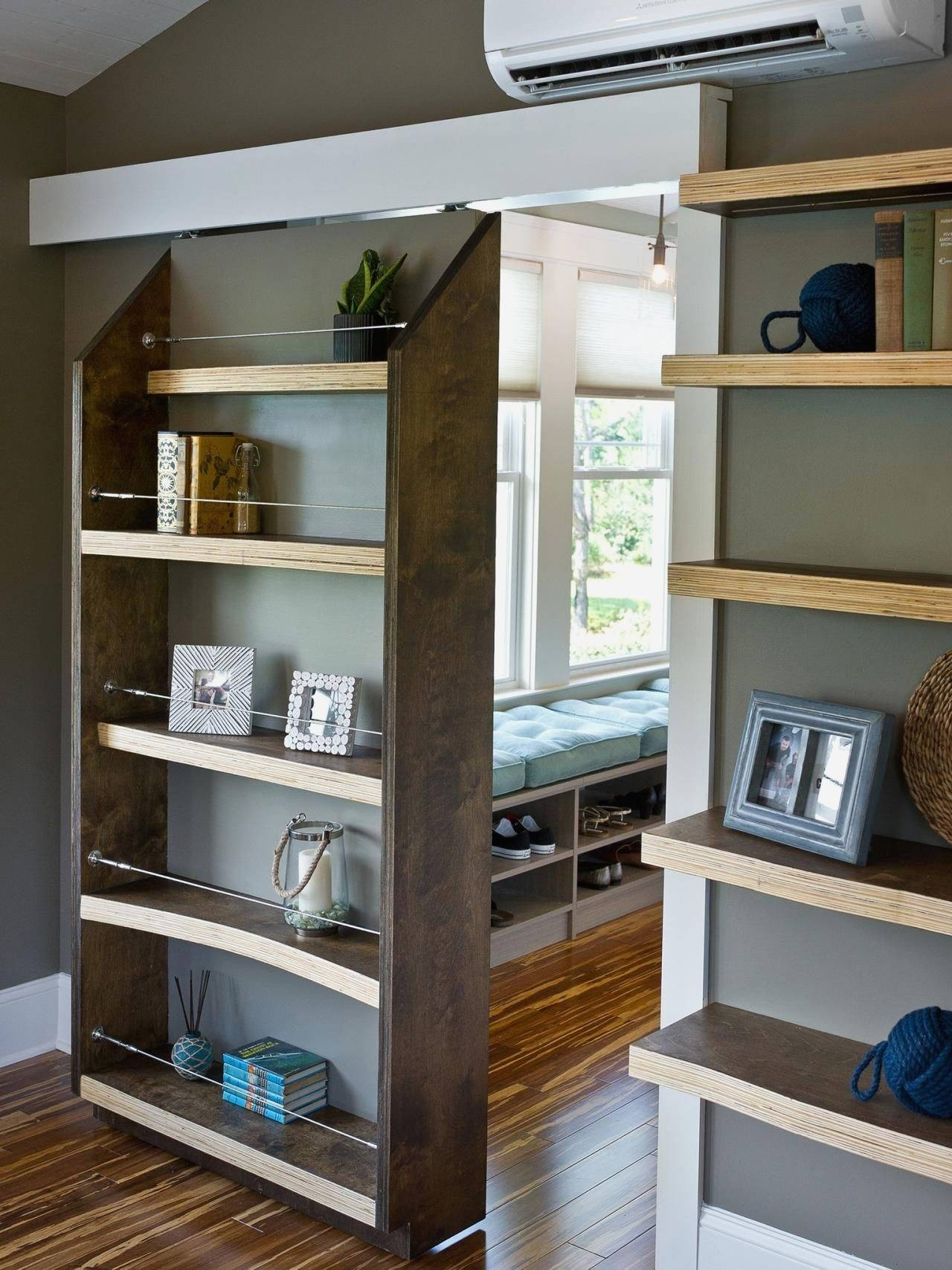 Merveilleux Bookcase Sliding Doors   Ideas On Foter