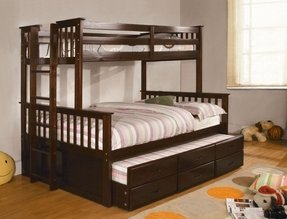 Bunk beds for kids twin over full