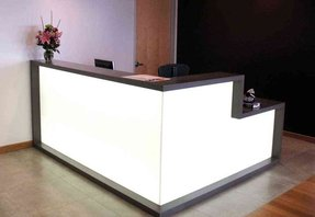 Cheap salon reception desk