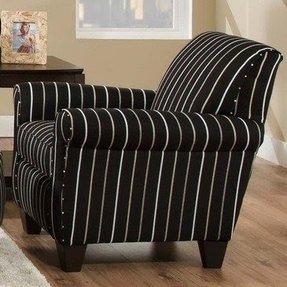 Striped Club Chair Foter