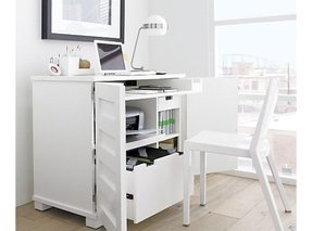 stand storage wood printer desk real and brilliant solid book computer with