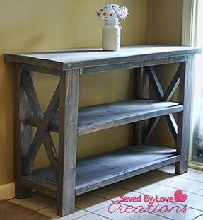 Console tables rustic 1