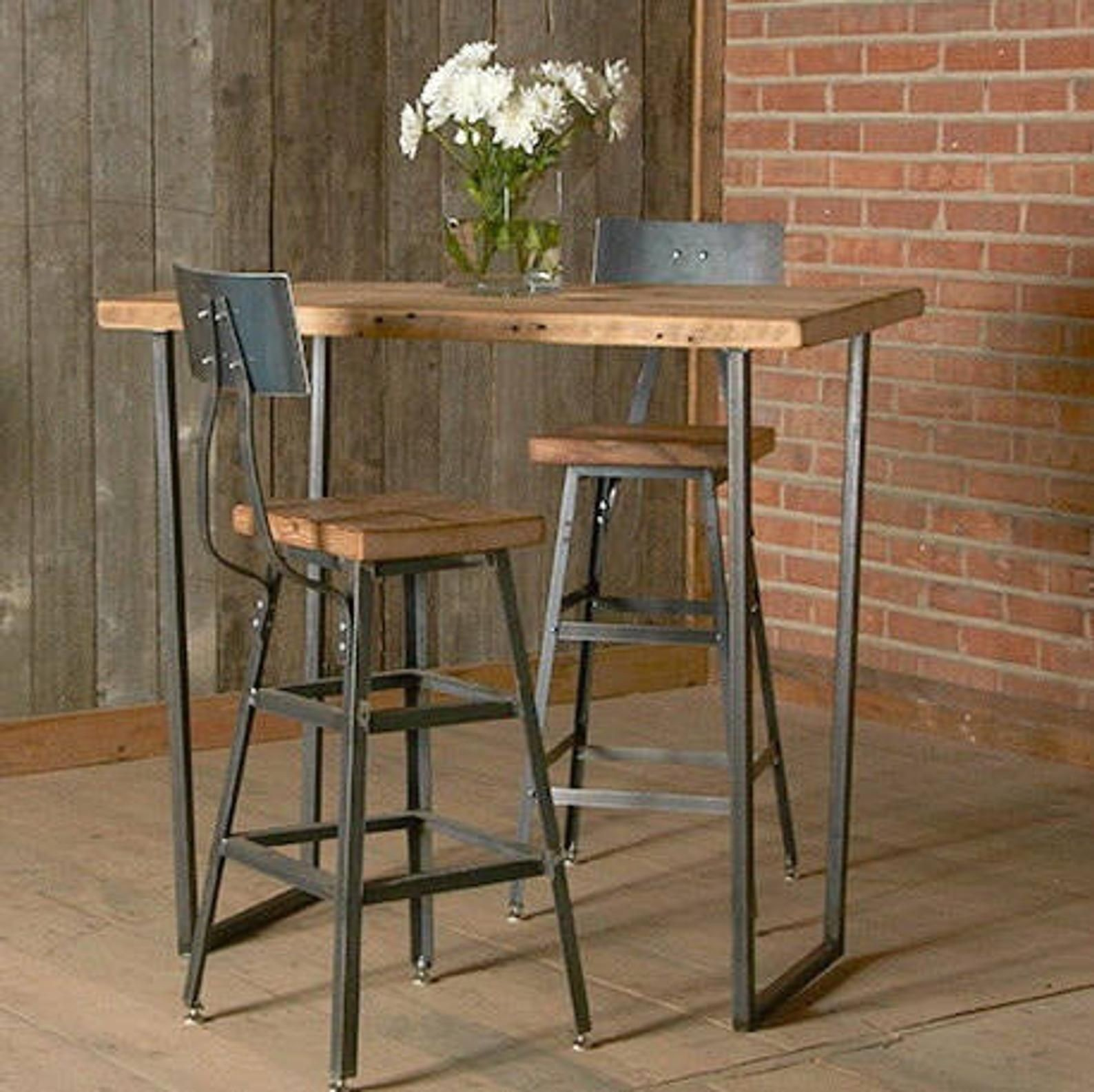 High Kitchen Table With Stools   Ideas on Foter
