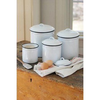Country kitchen canister set