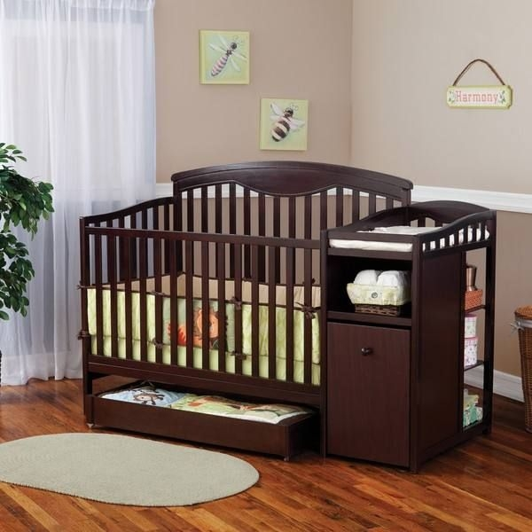 Delta shelby classic crib and changer
