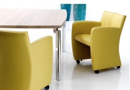 Dining Chairs With Wheels