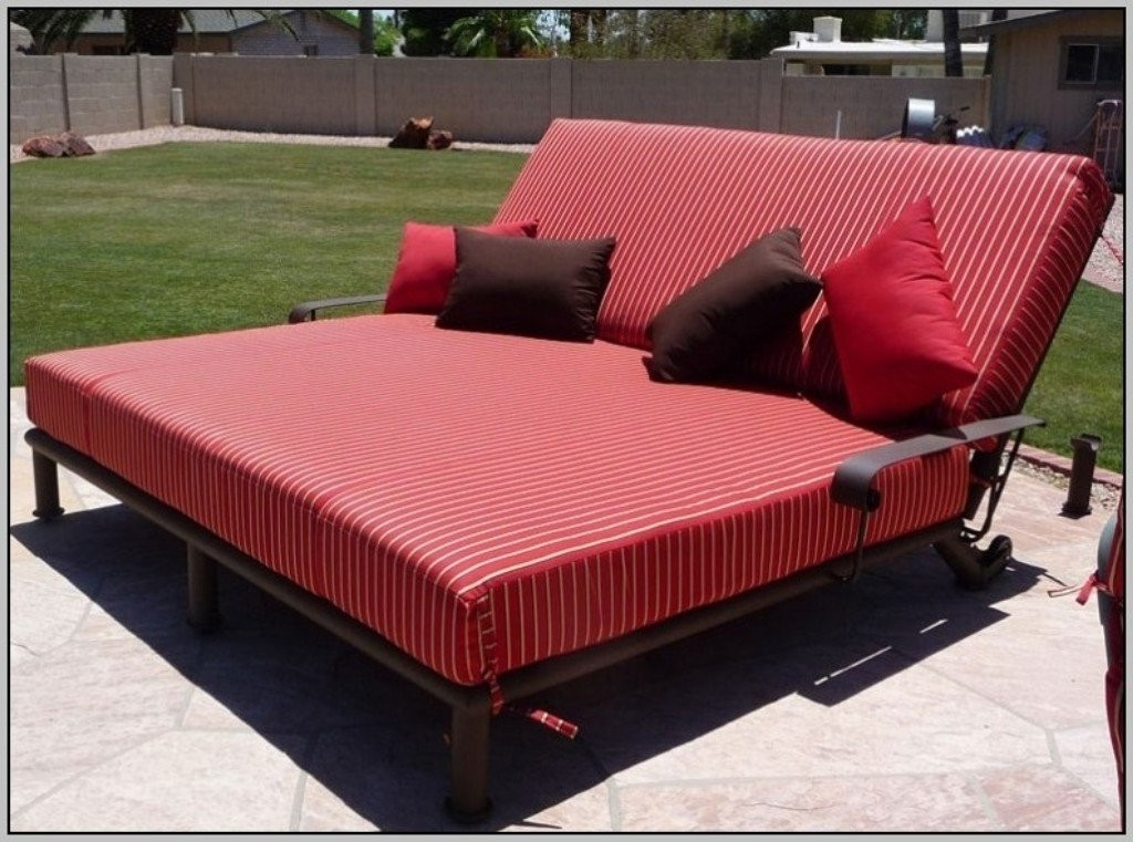 Beau Double Wide Chaise Lounge Chairs Images Of Double Chaise Lounge