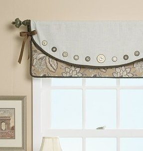 Drapes with valances 1