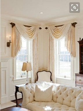 Drapes with valances 8
