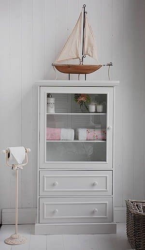 Free Standing Linen Cabinets 5