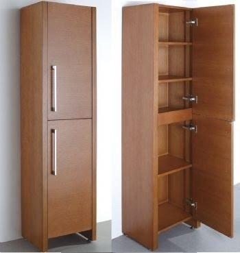 Merveilleux Freestanding Linen Cabinet