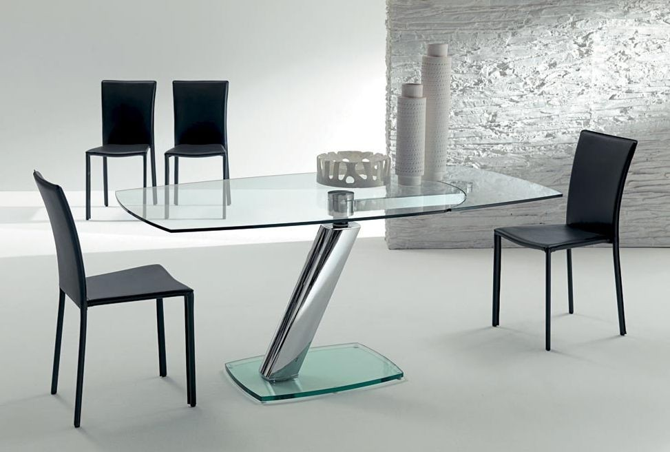 Glass Table With Glass Legs