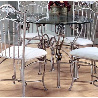 Glass Top Dining Table With Metal Base Ideas On Foter