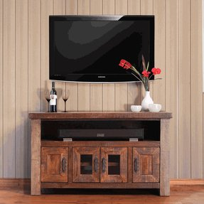Hairpin leg tv stand