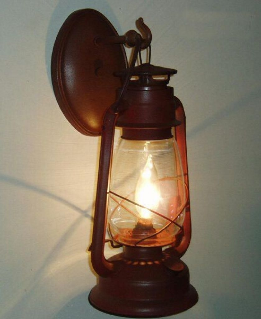 Great Hanging Lantern Wall Sconce