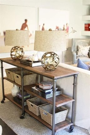 Industrial sofa table 1
