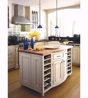 Kitchen Island With Wine Rack Ideas On Foter