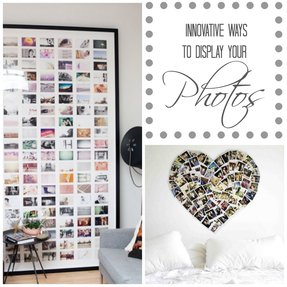 Large collage picture frames for wall