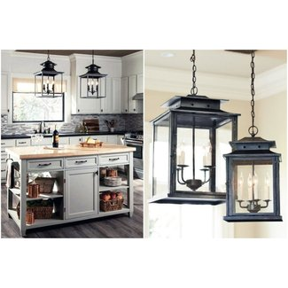 Large Outdoor Hanging Lantern