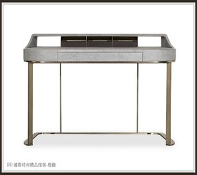 Leather console table 1