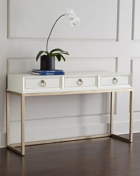 Leather Console Table Foter