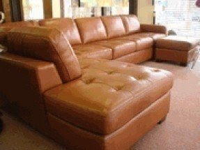 Leather Sectional Sofa With Sleeper