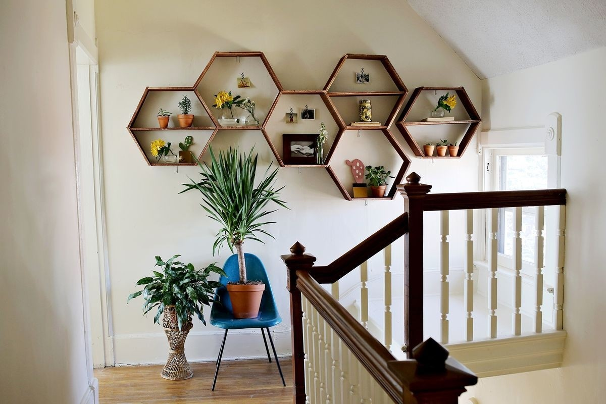 Captivating Living Room Wall Shelves 1