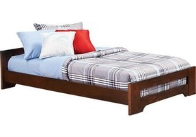 Low profile twin bed 14