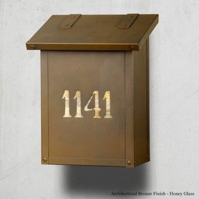 Mailbox with house numbers 2