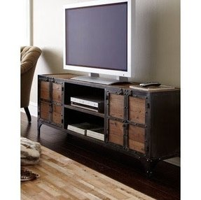 Metal And Wood Tv Stand Foter