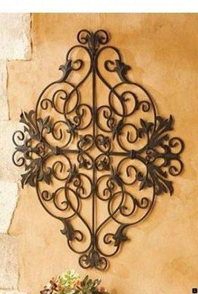 Metal Wall Flower Art - Foter