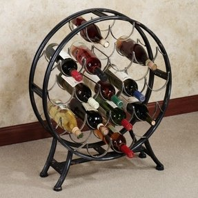 Metal wine racks floor 18